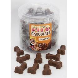 BOTE DE 50 PITOS DE CHOCOLATE MADE IN SP