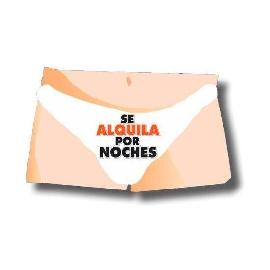 SLIP MUSICAL SE ALQUILA POR NOCHES