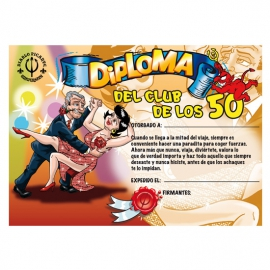 DIPLOMA 50 AÑOS