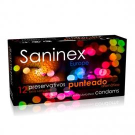 SANINEX PRESERVATIVOS PUNTEADOS 12 UDS